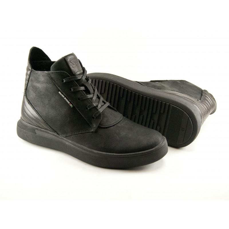 9588bc4d Ботинки Silver (16 черный). Купить мужские зимние ботинки.