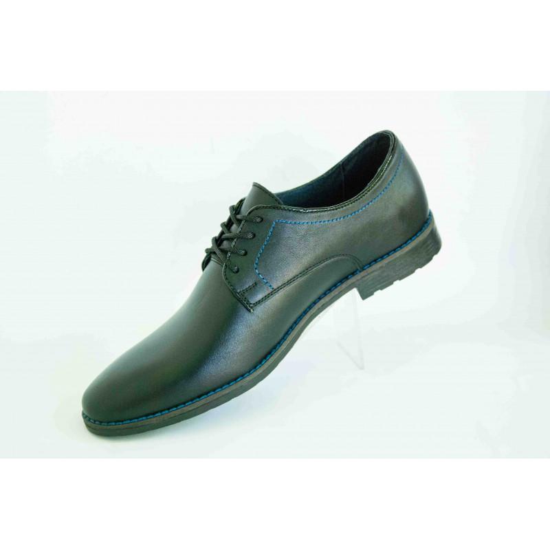 c639c4f9ef32 Туфли стильные мужские классика V.D.Y.синий шн. купить в интернет ...