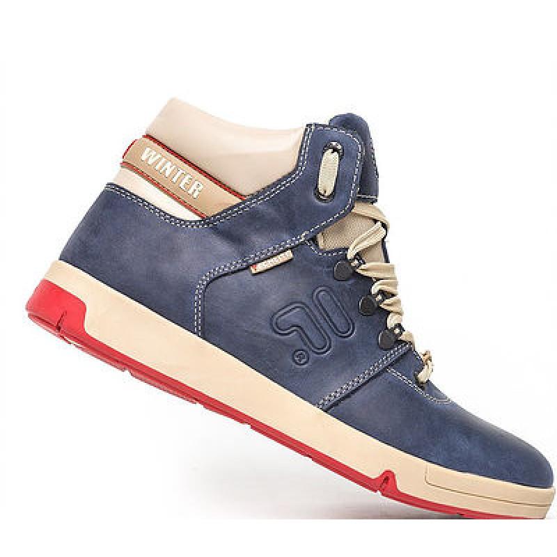9537cc017715 Ботинки Winter синий .